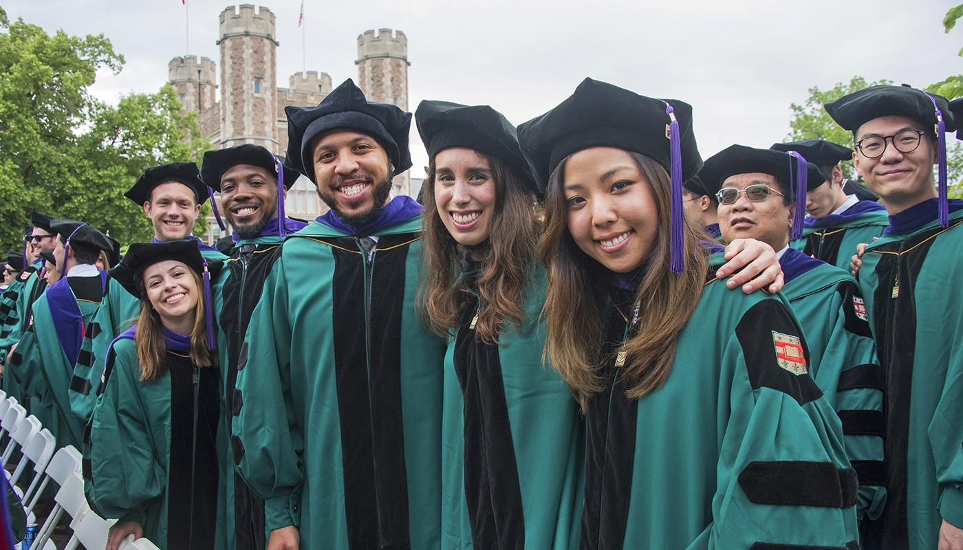 Law Graduates in Regalia