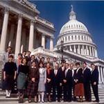 Congressional Law Clinic participants in Washington D.C.